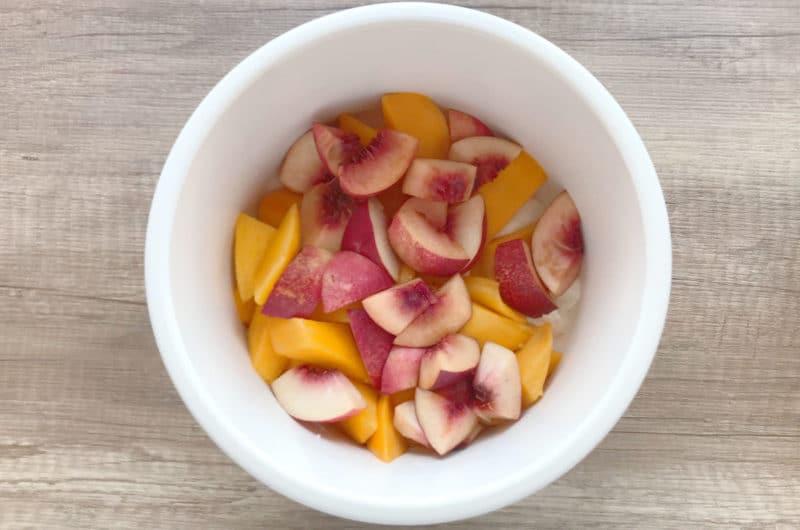 Mango Lassi z soczystą brzoskwinią i melisą