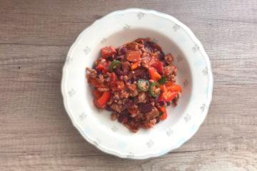 Przepis na teksańskie ostre chili con carne