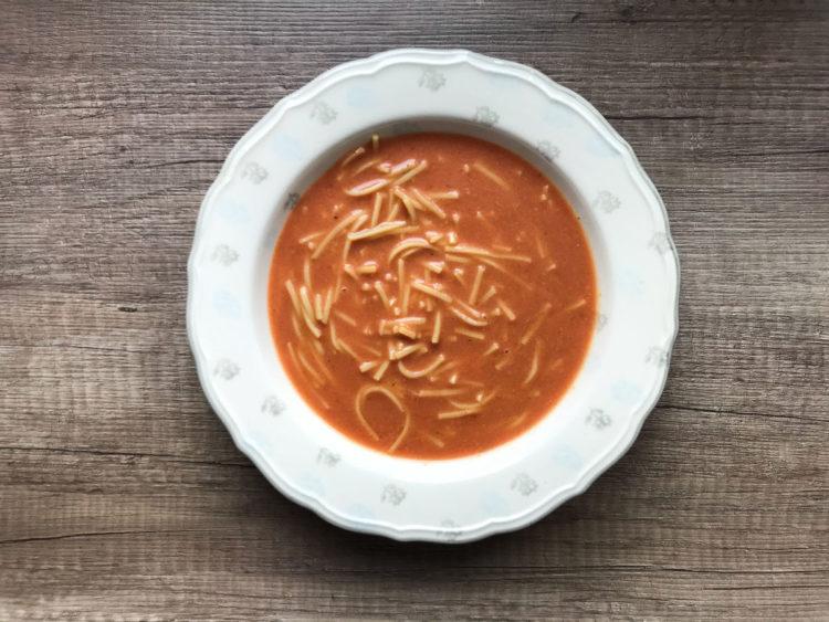 Zupa pomidorowa z wczorajszego rosołu