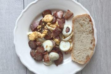 Smażonka Wielkanocna czyli pomysł na wielkanocne śniadanie