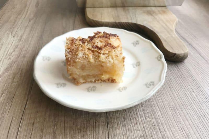 Szarlotka sypana - najprostszy jabłecznik świata