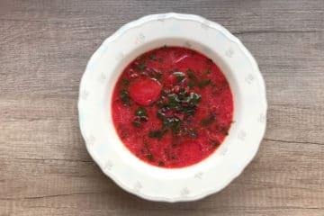 Botwinka czyli zupa z młodej botwinki i ziemniaków