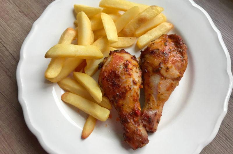 Podudzia kurczaka w papryce węgierskiej