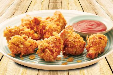 Przepis na nuggetsy w panierce z płatków kukurydzianych