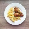 Pałki kurczaka w marynacie węgierskiej z papryką