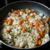 Włoskie risotto z młodą marchewką i groszkiem