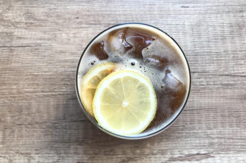 Cytrusowa lemoniada z dodatkiem kawy