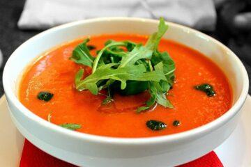 Gazpacho - chłodnik arbuzowo pomidorowy