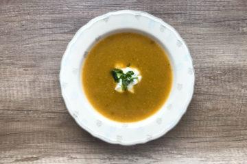 Zupa krem jarzynowa z warzyw rosołowych
