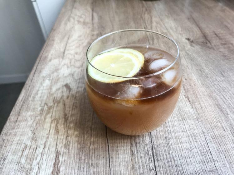 Cytrynowa lemoniada z espresso