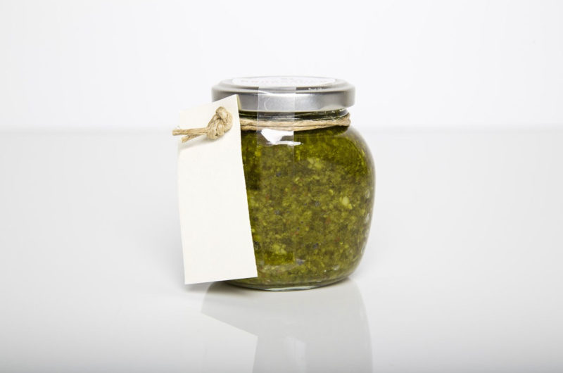 Pesto szałwiowo - orzechowe z cytrusową nutą