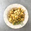 Ziemniaki smażone z rozmarynem