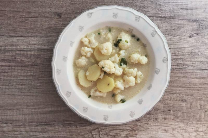 Zupa kalafiorowo - ziemniaczana