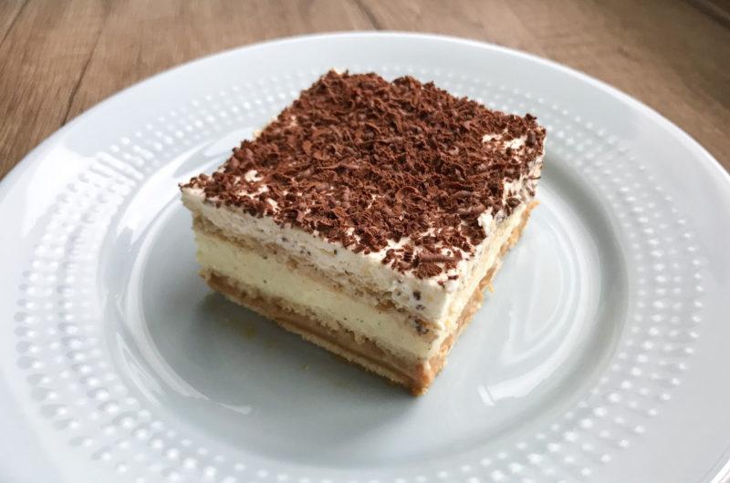 Ciasto 3 BIT z masą krówkową
