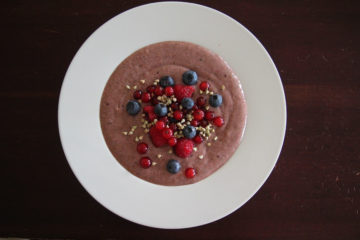 Budyń pudding czekoladowo - migdałowy