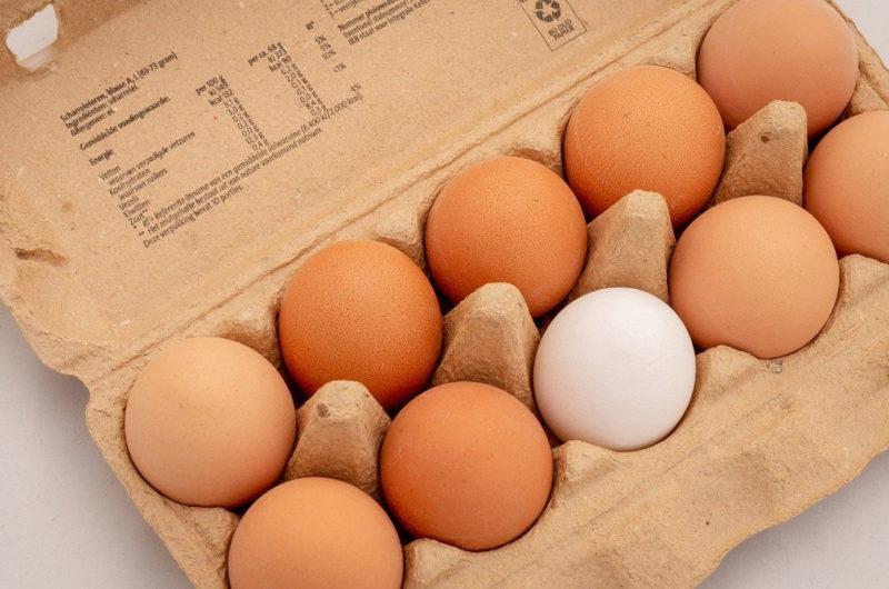 Wegetariańskie kotlety jajeczne z zieleniną
