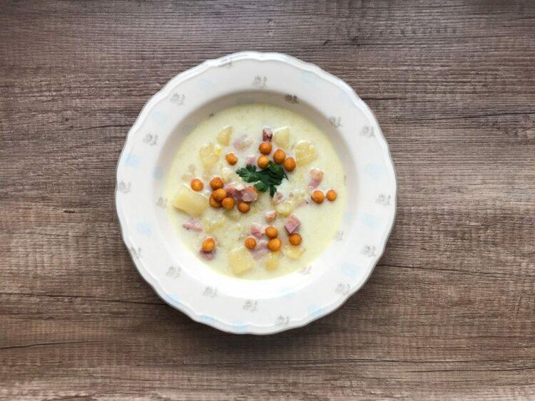 Zupa porowa z szynką. Wyjątkowy smak!