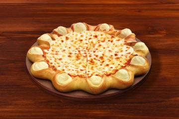 Bułeczki pizzowe z dipem serowym i salami pepperoni