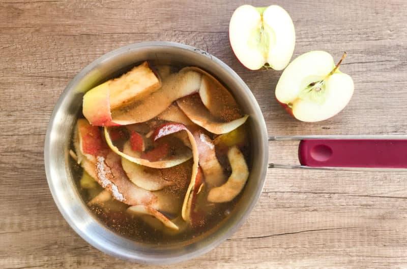 Napój jabłkowy gotowany z resztek
