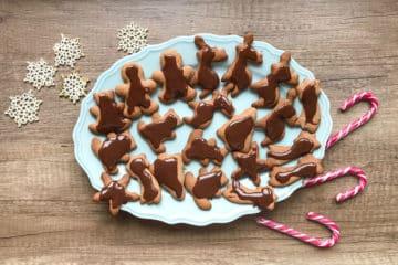 Świąteczne pierniczki alpejskie w czekoladzie