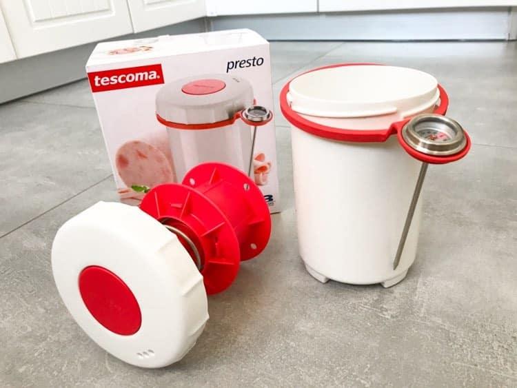 TESCOMA Presto 1 kg biały - szynkowar plastikowy