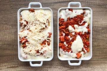 Włoska lasagne z mięsem mielonym