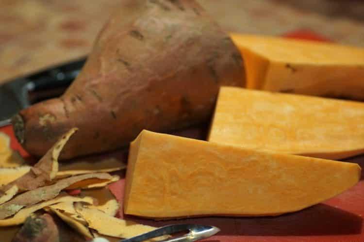 Bataty. Ziemniaki zwane wilcem ziemniaczanym