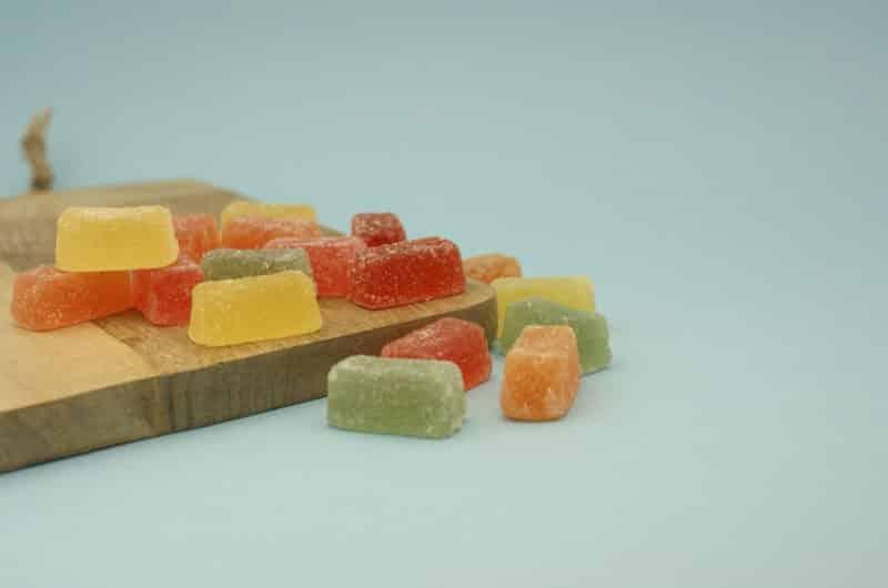 Galaretki owocowe w posypce cukrowej