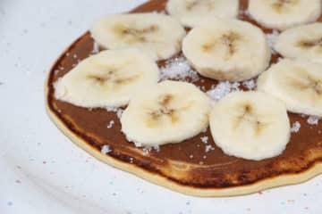 Naleśniki Monte z mleczno - czekoladowym deserem