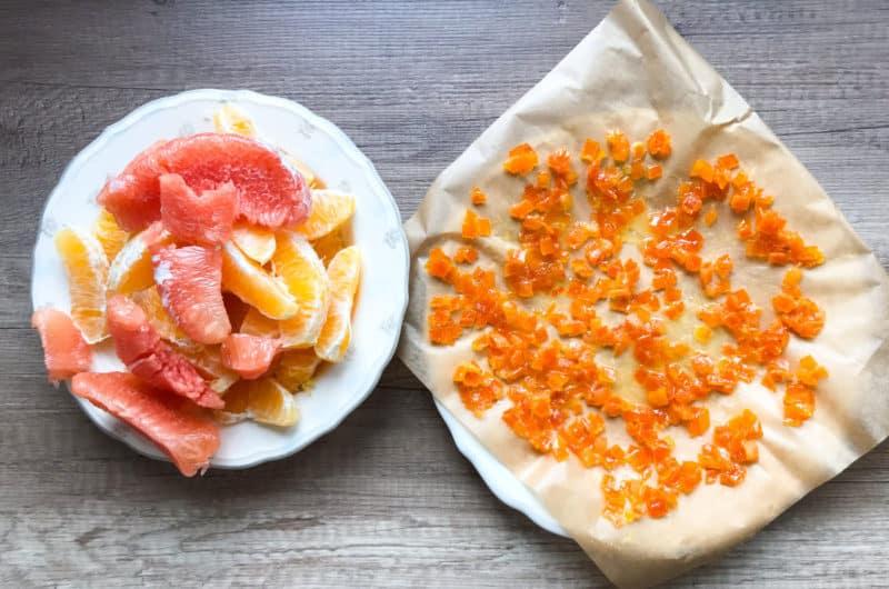 Skórka pomarańczy kandyzowana w cukrze