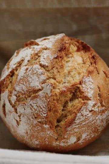 Miseczki chlebowe na żurek w chlebie