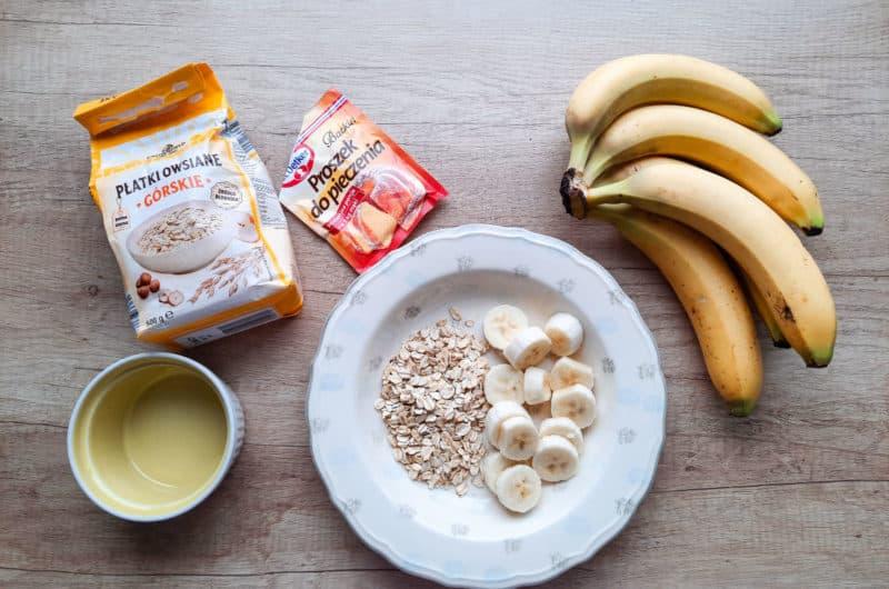Pieczona owsianka bananowa z TikToka