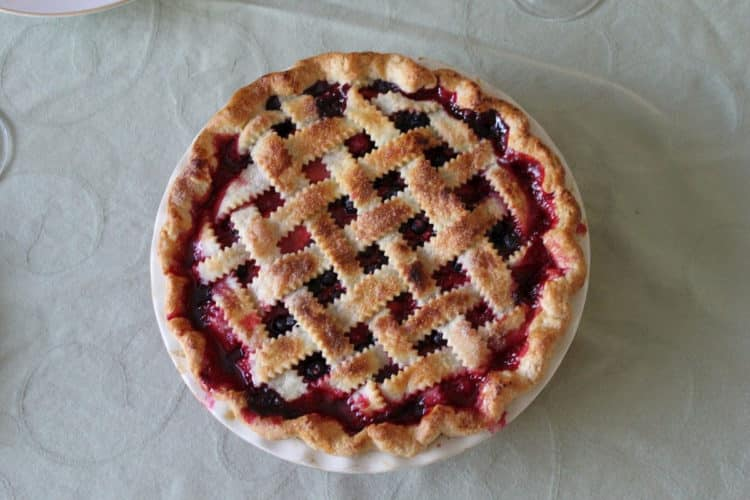 Cherry pie - krucha tarta z wiśniami