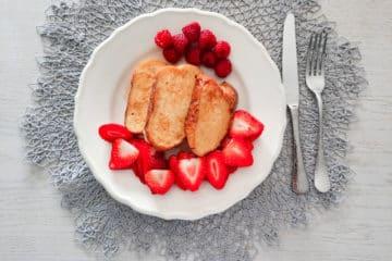 Tosty francuskie ze słodkiej chałki