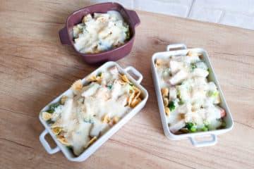 Zapiekanka makaronowa z sosem beszamelowym