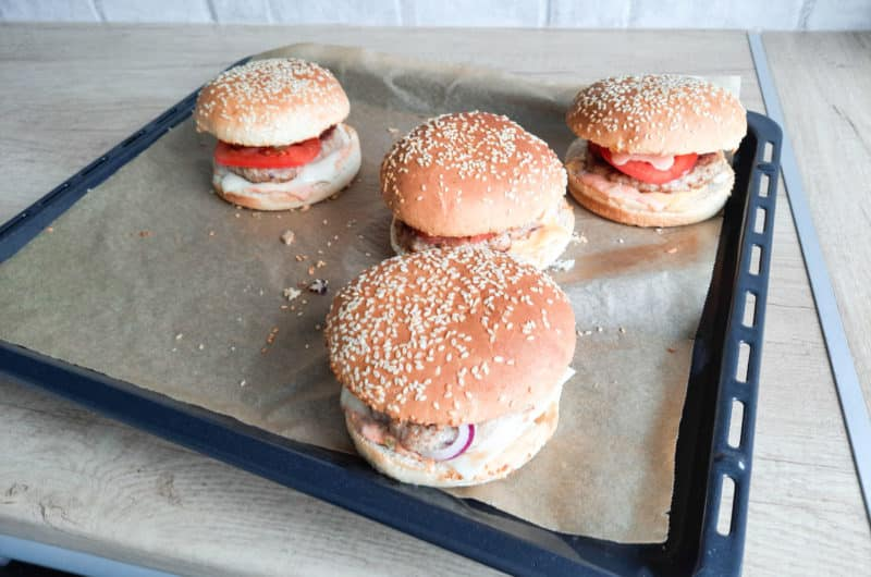 Swojskie burgery z wołowiną