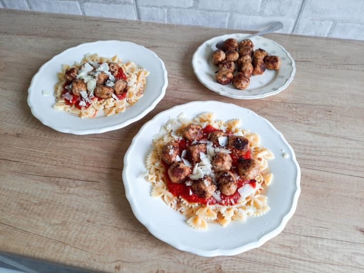 Pulpeciki mięsne w sosie pomidorowym