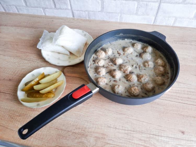 Pulpeciki mięsne w sosie pieczarkowym