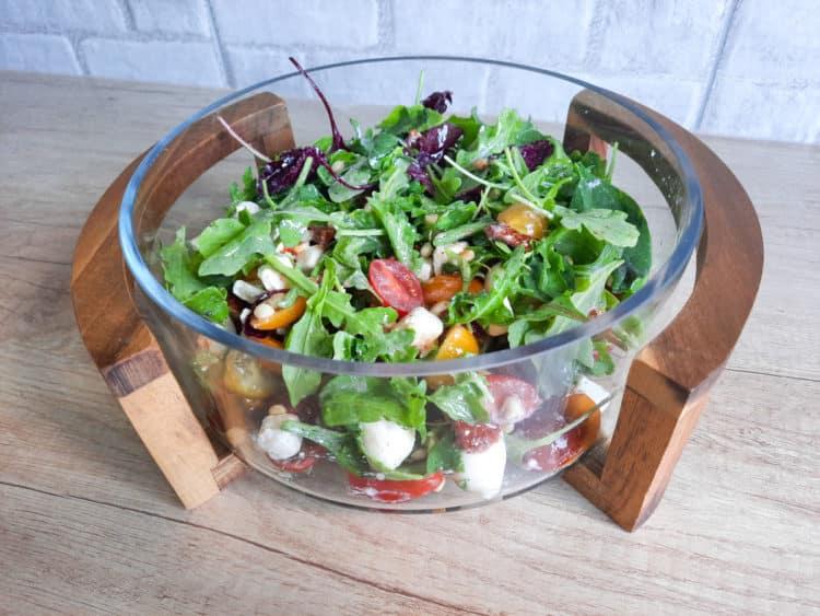 Mix sałat z miodowym vinegret