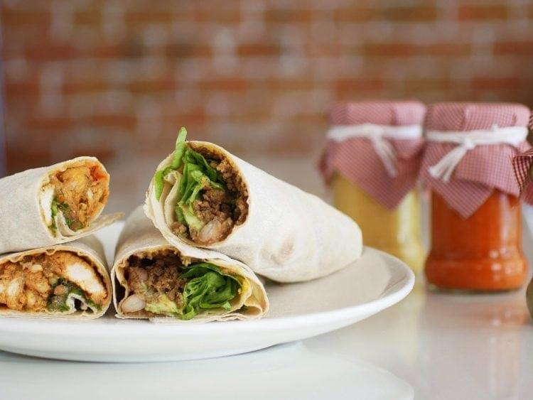 Gyros w tortilli - domowy fast food