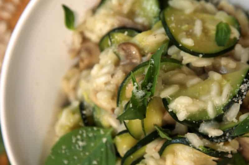 Risotto z kurczakiem i warzywami