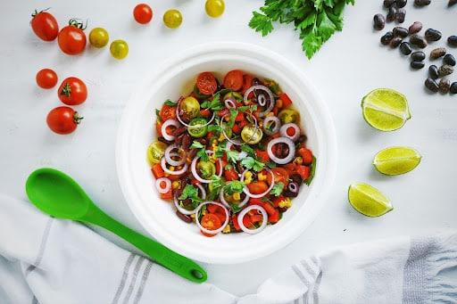 wege grill - sałatka warzywna
