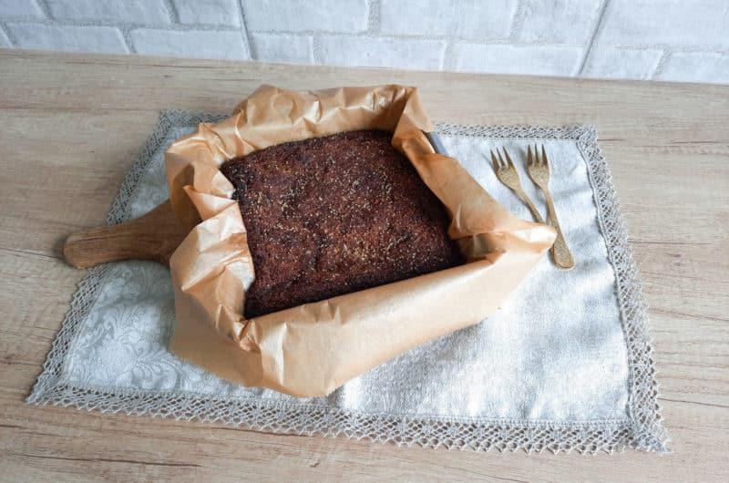 Wegańskie ciasto czekoladowe dla alergika
