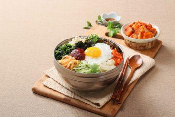 Bibimbap czyli koreańska miska zdrowia