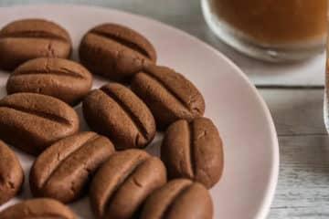 Koreańskie ciastka kawowe