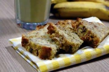 Bananowy chlebek jako najprostsze ciasto