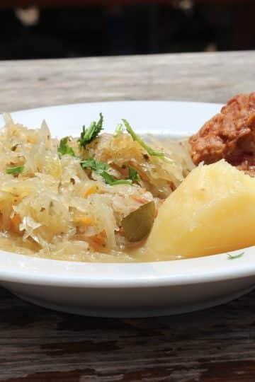 Kwaśnica zupą idealną na mroźne dni
