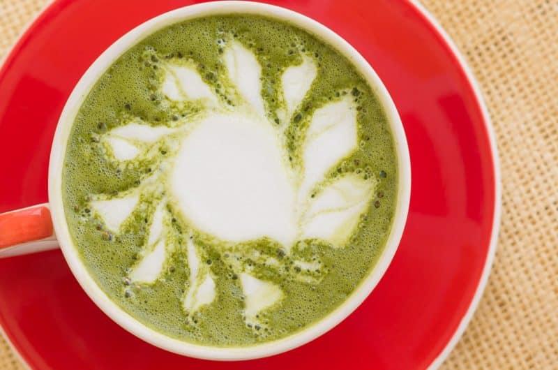 Sposób na matchę czyli warstwowa latte