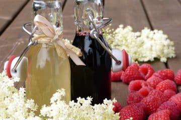Niezawodny przepis na sok z czarnego bzu